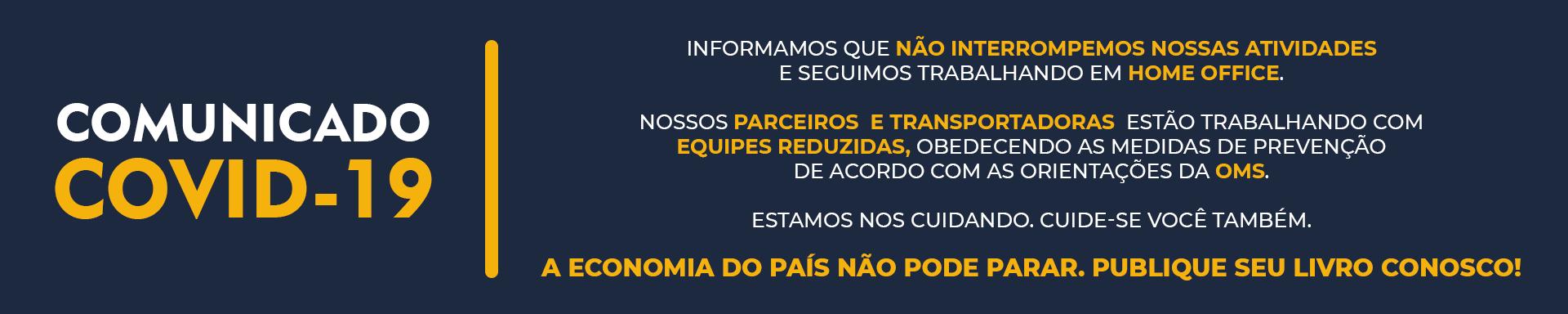 Fontenele Publicações / 11 95150-3481 / 11  95150-4383 COMUNICADO COVID-19