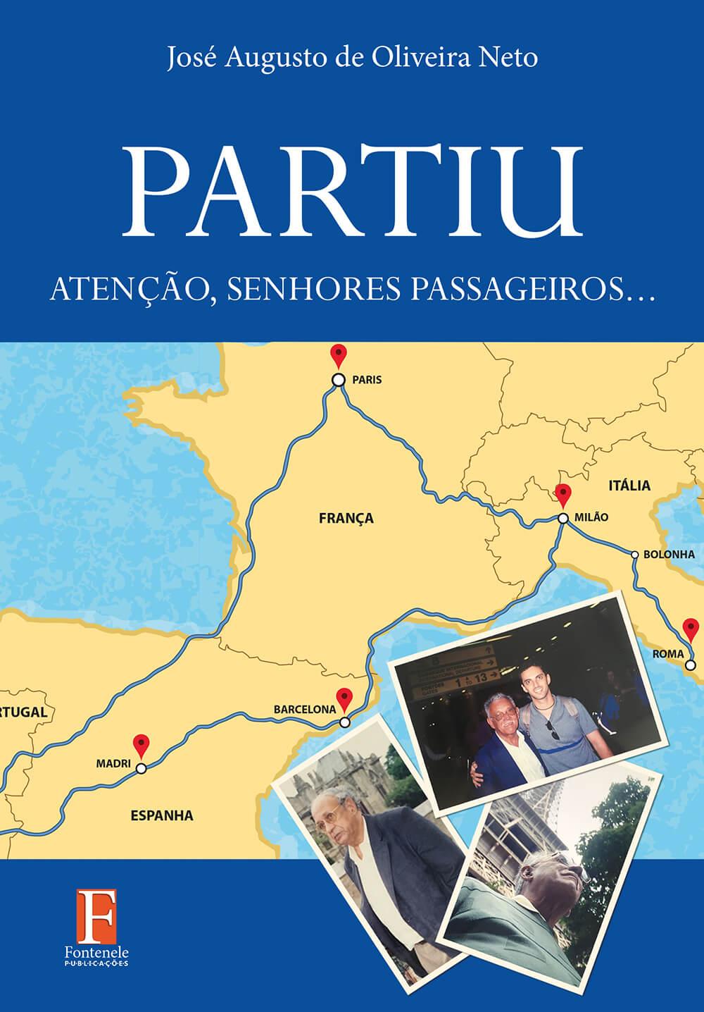 Fontenele Publicações / 11 95150-3481 / 11  95150-4383 PARTIU: Atenção, senhores passageiros…